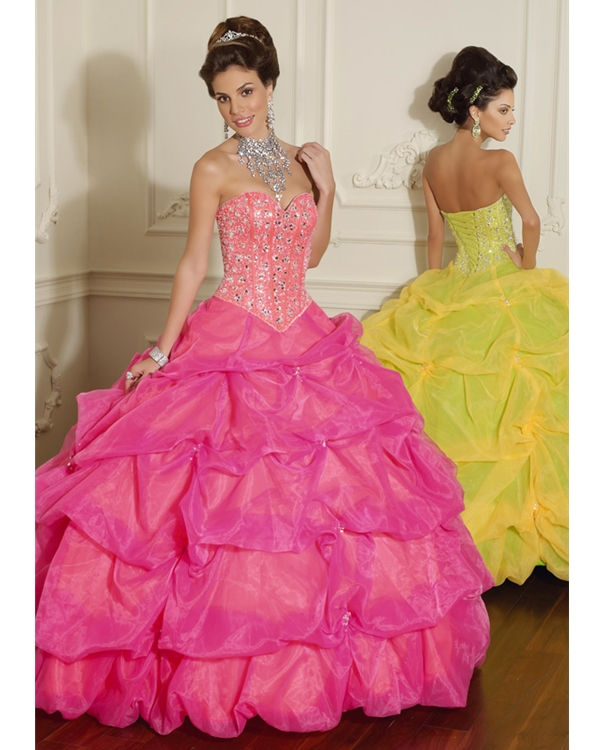 Light Plum Ball Gown Sweetheart And Strapless Lace Up Full Length Quinceanera Dresses With Sequins And Twist Drapes