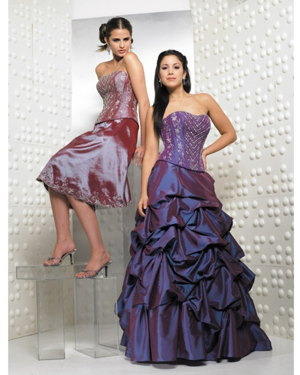 Regency Ball Gown Strapless Lace Up Full Length Quinceanera Dresses With Embroidery And Twist Drapes